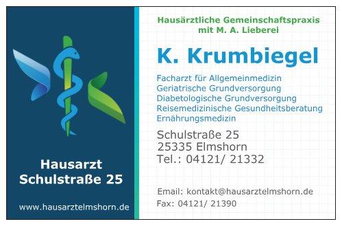 Kay Krumbiegel - Facharzt für Allgemeinmedizin, geriatrische und diabetologische Grundversorgung, Ernährungsmedizin, Reisemedizin