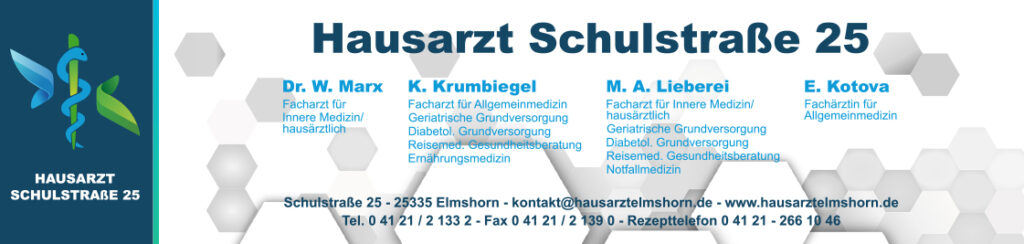 Hausarztpraxis Schulstrasse 25 - Dr. Marx, Krumbiegel, Lieberei und Kotova